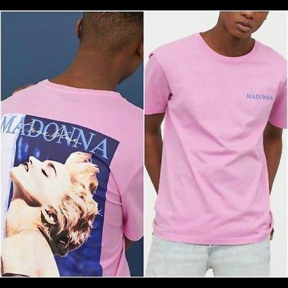 Tee Poshmark ShirtsHm Madonna H Pink amp;m 4Rjq3cLA5
